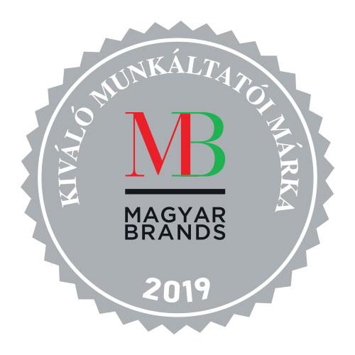 MagyarBrands – Kiváló Munkáltatói Márka – '18 '19 (Brand Content Kft.)